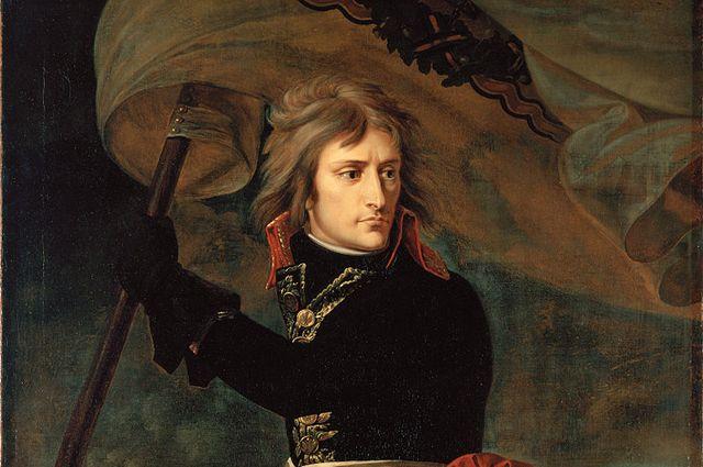 Антуан Жан Гро. Наполеон Бонапарт на Аркольском мосту (1796—1797)