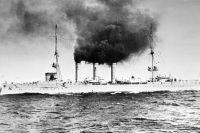 Крейсер «Эмден», 1910 год.