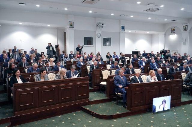 Бюджет Калининградской области принят в первом чтении