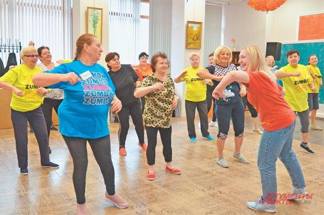 Танец тренирует сердце. Зумба улучшает самочувствие