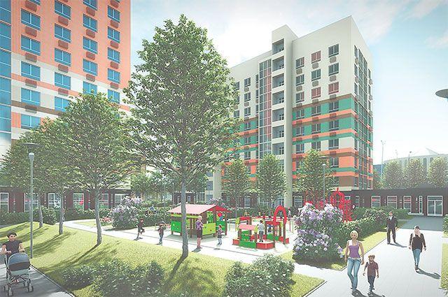 В 3-м микрорайоне появятся новые дома, детский сад и корпус школы.