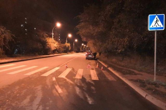 Пьяный водитель сбил бездомную женщину на переходе в Хабаровске