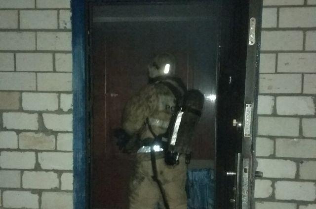 В Оренбургском районе при пожаре погибли пять человек.