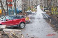 Ремонтные работы на маршала Василевского близки к завершению.