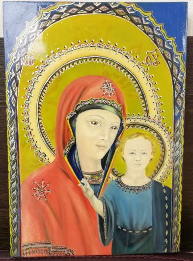 Жюри отметили «живые» глаза Девы Марии и Иисуса Христа.