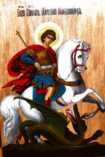 Во время написания иконы осуждённые познакомились с житиями святых.