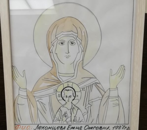 Перед образами, написанными в каноне, можно будет молиться. Остальные работы оставят в качестве картин.