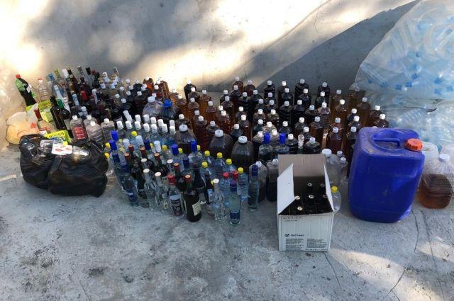 В Тюмени закрыли крупный подпольный цех по производству алкоголя