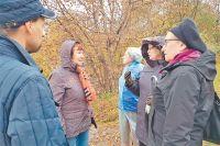На экскурсии по району гиды ижители делятся фактами об истории исегодняшней жизни Строгина.