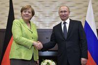 Меркель и Путин обсудили урегулирование ситуации в Украине: детали беседы