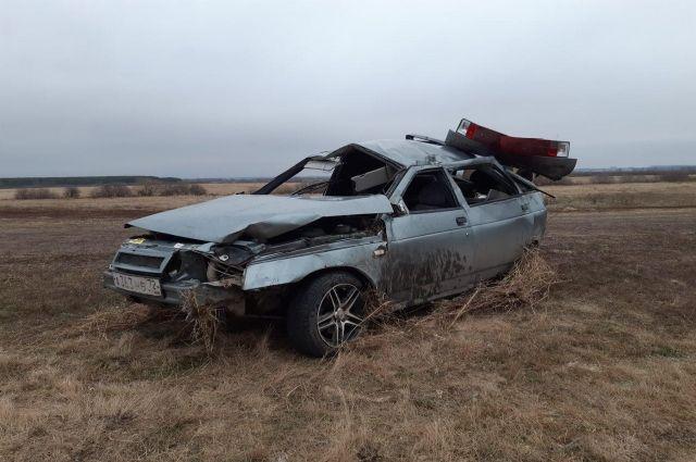 Два человека погибли в ДТП, произошедшем в Казанском районе