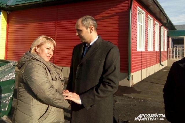 В Беляевском р-не Денис Паслер посетил производство и новый детсад.