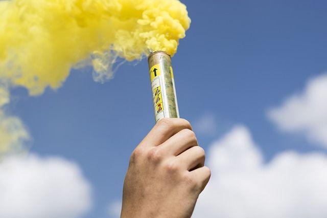 При горении шашки выделяются вещества, которые могут стать причиной отравления, особенно в замкнутом пространстве.