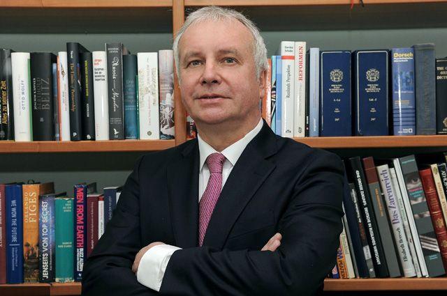 Известный немецкий политолог Александр Рар.