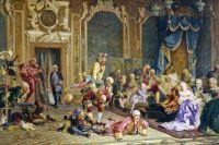 «Шуты при дворе императрицы Анны Иоанновны» (1872).