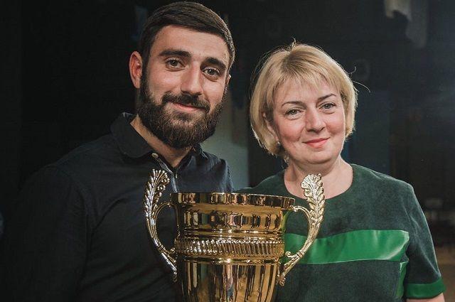 Мария Ивановна с сыном Владимиром