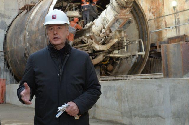 Собянин: Новая станция метро улучшит транспортную доступность Зюзино