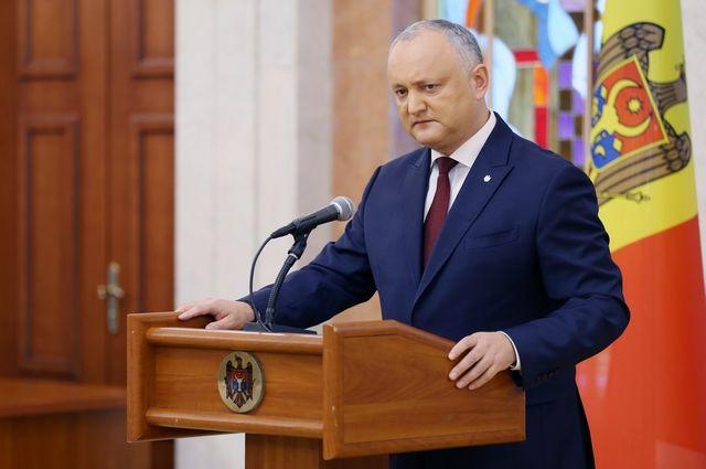 Додон прокомментировал возможность создания коалиции в парламенте