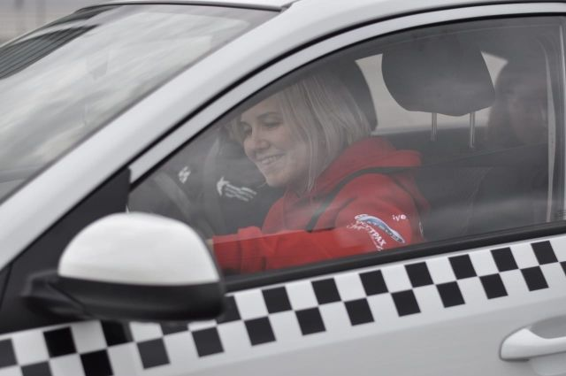 Луиза Бадреева из Казани стала лучшим водителем страны.