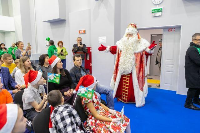Всероссийский Дед Мороз - в Красноярске
