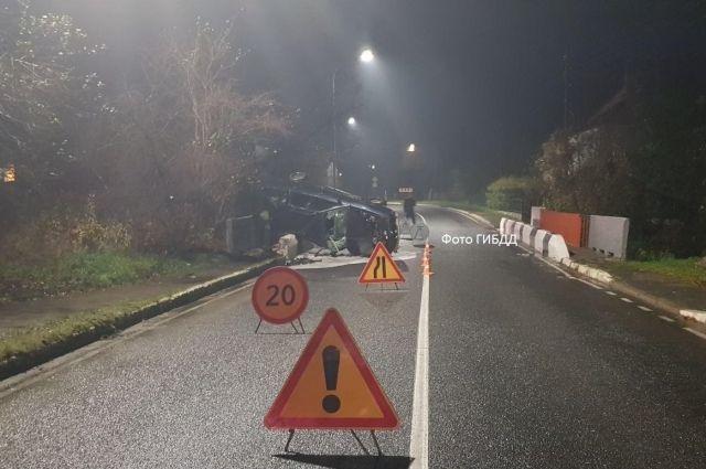 В ДТП в Мамоново пострадали пять человек