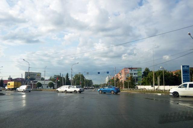 Перекрёсток ул.Орджоникидзе - 25-я Северная.