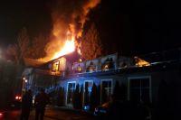 В Ивано-Франковской области произошел пожар в ресторане: детали