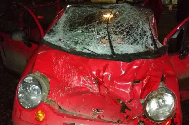В Удмуртии по вине пьяной автомобилистки в аварии пострадала девочка