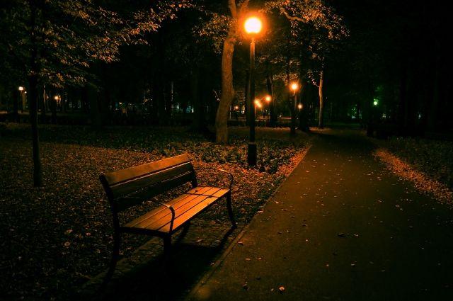 В городском парке Зеленоградска тестируют энергосберегающее освещение