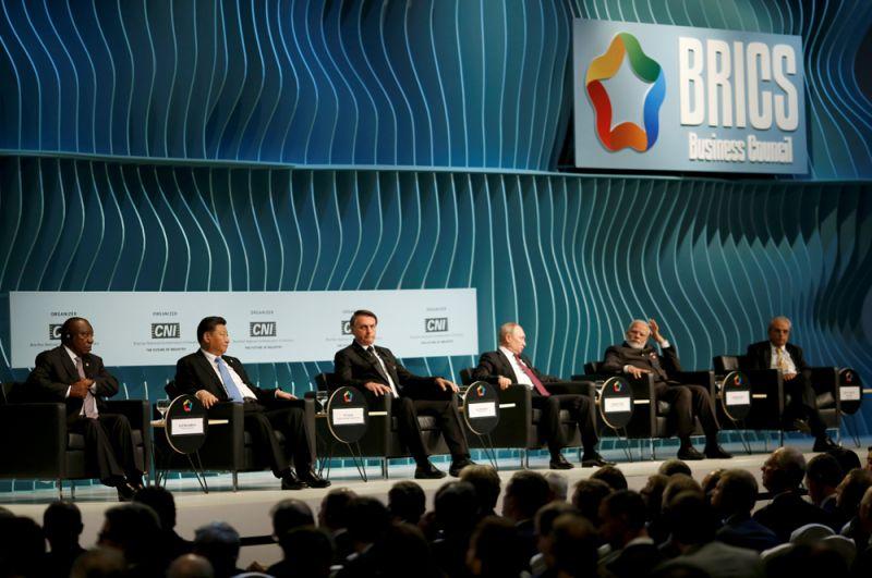 Участники саммита БРИКС.