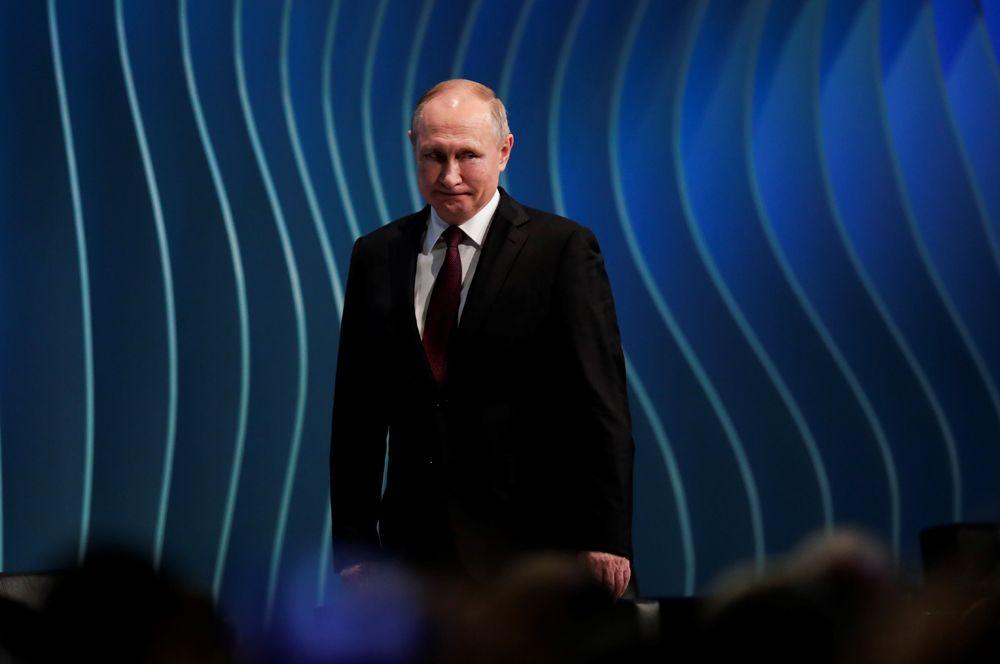 Владимир Путин во время саммита БРИКС.