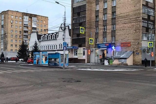 Оказывается, исторические здания находятся на ул. Горького