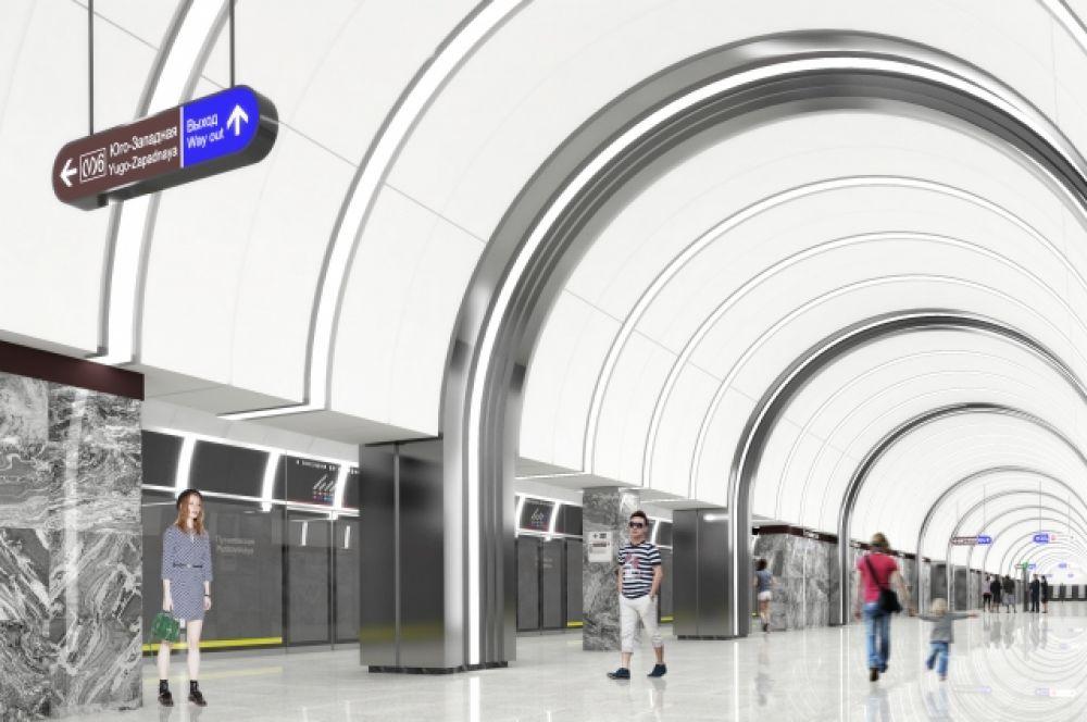 Проект станции «Путиловская».