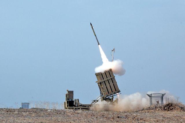Радикалы из сектора Газа вновь нанесли ракетный удар по Израилю photo