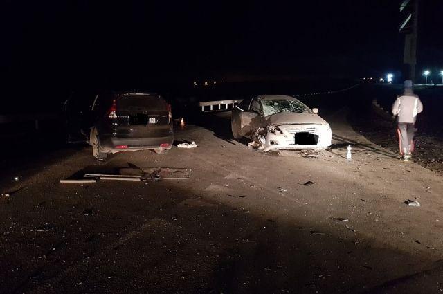В ДТП на трассе Оренбург-Орск погибла женщина, пострадали еще 2 человека.