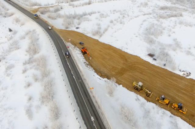 Началась активная стадия реконструкции трассы Коротчаево-Новый Уренгой