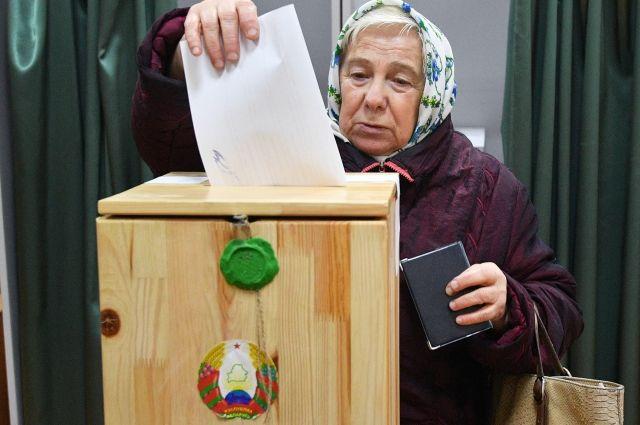 В Белоруссии явка на досрочном голосовании в парламент составила 35,8%
