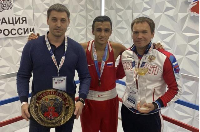 Оренбургский боксер Габил Мамедов стал чемпионом России.