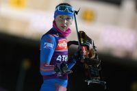 Российская биатлонистка Екатерина Глазырина.
