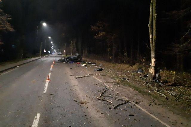 Возбуждено дело в отношении водителя, по вине которого погибли два человека