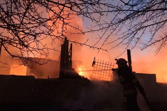 Во Львовской области произошел пожар в воинской части: есть жертва