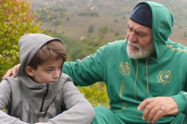 Последние сцены в кинокартине «Лучшие друзья» снимали на чеченском