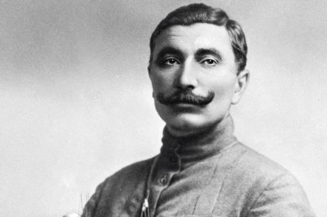 Семен Михайлович Буденный (1883-1973), командующий Первой Конной армией РККА, советский военачальник. 1919 год.