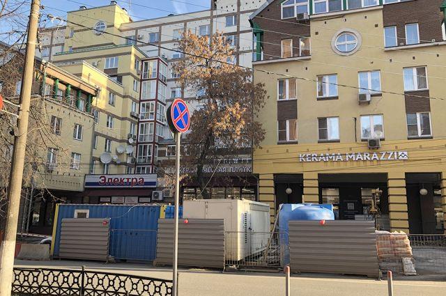 Из элитного дома в центре Нижнего Новгорода некоторые жильцы уехали, чтобы чего не вышло.