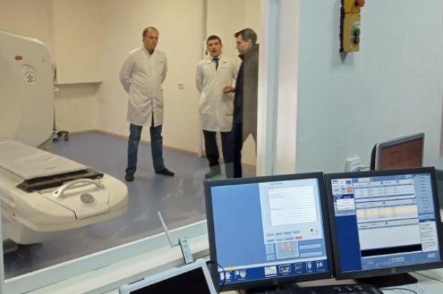 В областной онкологической больнице начал работать специализированный мультиспиральный томограф.