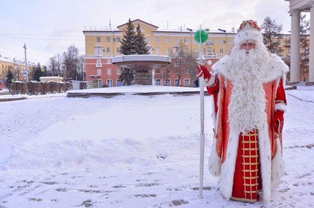 За 3 года путешествий Дед Мороз проехал 40 тыс. км