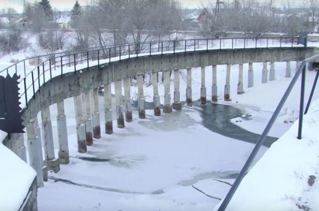 Старая дамба Барнаулки