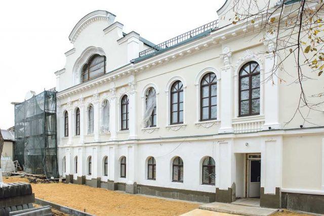 Реконструкция исторического здания «Дом Вигеля» идёт строго по графику.