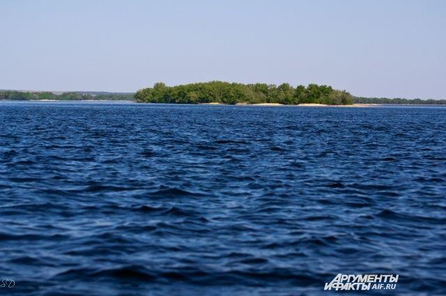 Волга - одна из самых загрязнённых рек центральной России.