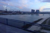 Город расположен на слиянии двух рек - Дуная и Саввы.